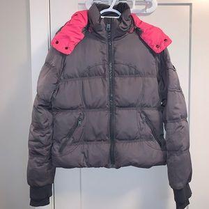 Lululemon Peace Of Mind Puffer Jacket Pink Gray